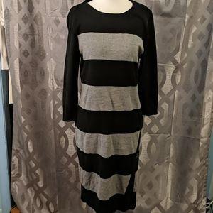 NY&Co Striped Sweater Dress